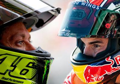 Insiden Rossi Vs Marquez : Hubungan Kenegaraan Italia dan Spanyol Tegang