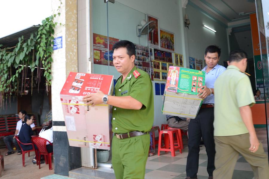 Gia Lai: Tạm giữ toàn bộ hàng hóa của Cơ sở kinh doanh Thiên Ngọc III