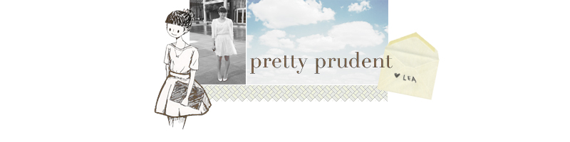 pretty prudent