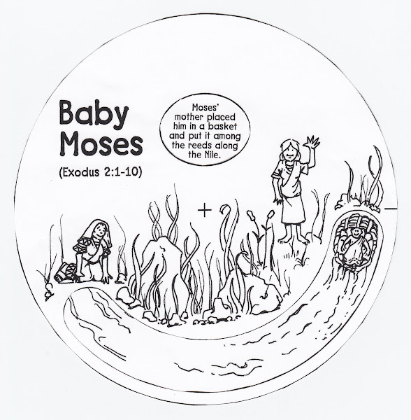 Printable Baby Moses Crafts