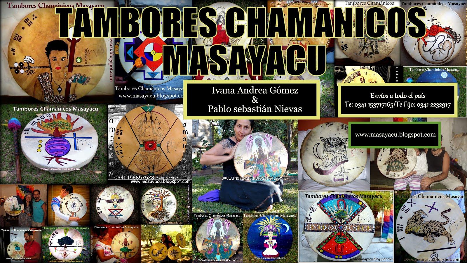 Tambores Chamánicos Masayacu
