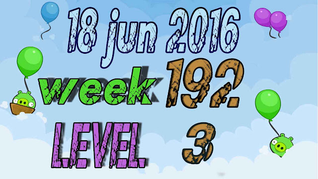 Angry Birds Friends Tournament level 3 Week 192