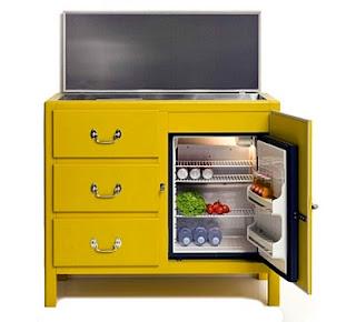 kitchenette meneghini amarilla