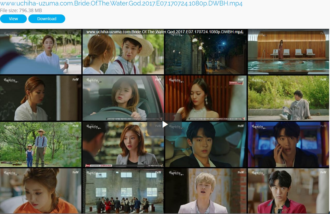 Screenshots Download Film Drama Korea Gratis Bride Of The Water God, The Bride of Habaek, 하백의 신부 (2017) Episode 07 DWBH NEXT MP4 Free