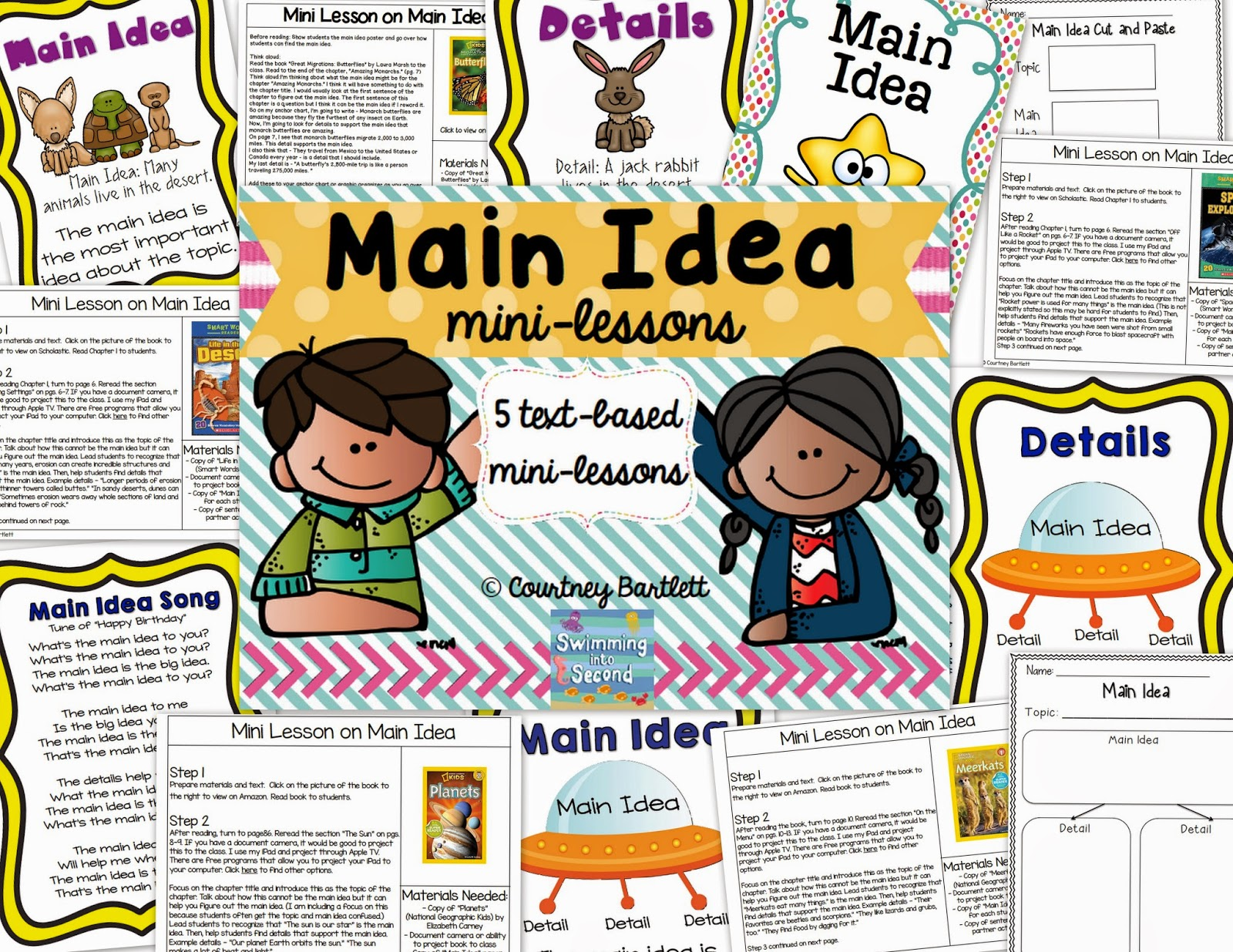 https://www.teacherspayteachers.com/Product/Main-Idea-mini-lesson-pack-1719199