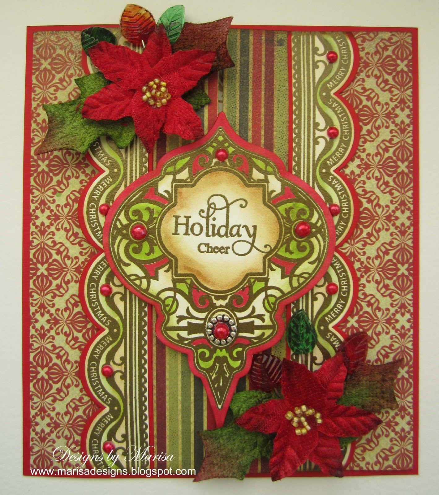 Designs by Marisa: JustRite Papercraft and Petaloo Christmas ...