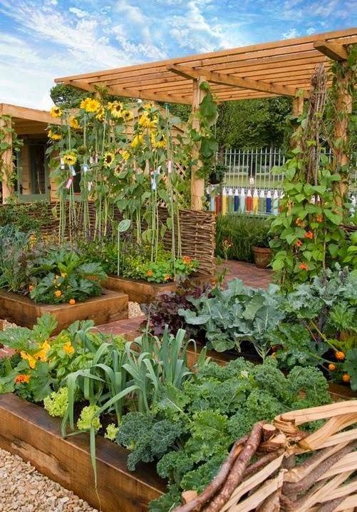 Edible Garden Ideas #Landscaping