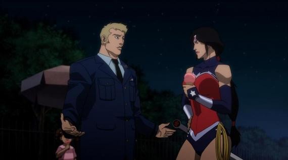 Wonder Woman en Justice League: War