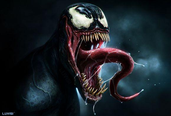 Dan Luvisi deviantart ilustrações digitais fantasia filmes quadrinhos cultura pop Venom