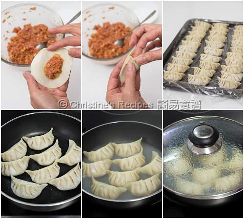 泡菜餃子製作圖 Kimchi Dumplings Procedures02