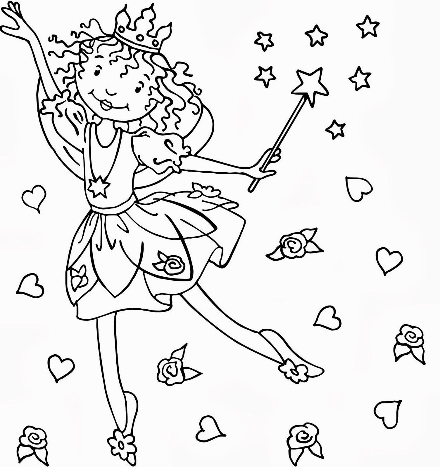 Feen Malvorlagen Lustige Spiele für Mädchen-App für  - Malvorlagen Feen Prinzessinnen