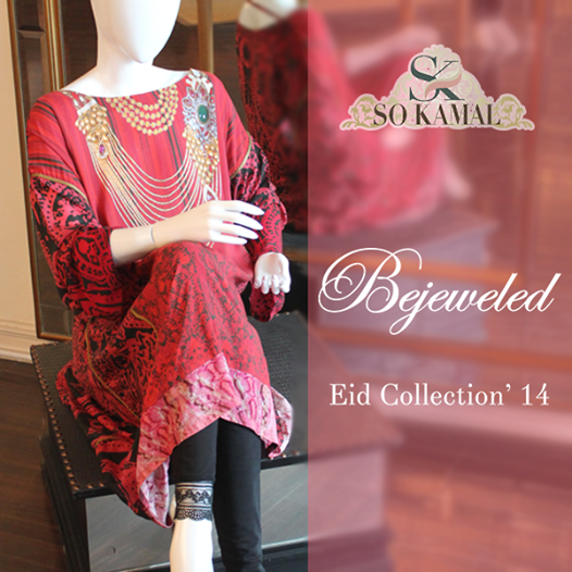 So Kamal Bejeweled Eid Collection 2014