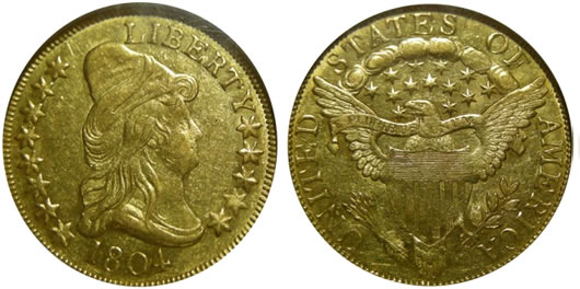 1804 Ten Dollar Gold Piece