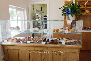 New Pastry Case at Blue Door