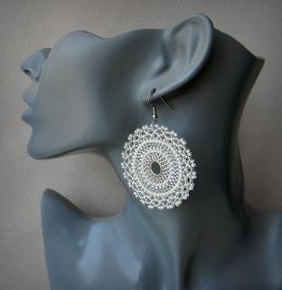 beaded earrings beadwork jewelry amabel27 bohemian earrings