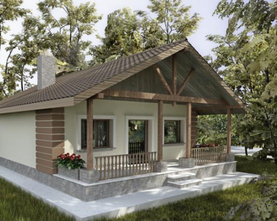 O cas mic la ar exemple de proiecte pentru case mici for Casa la tara ieftina
