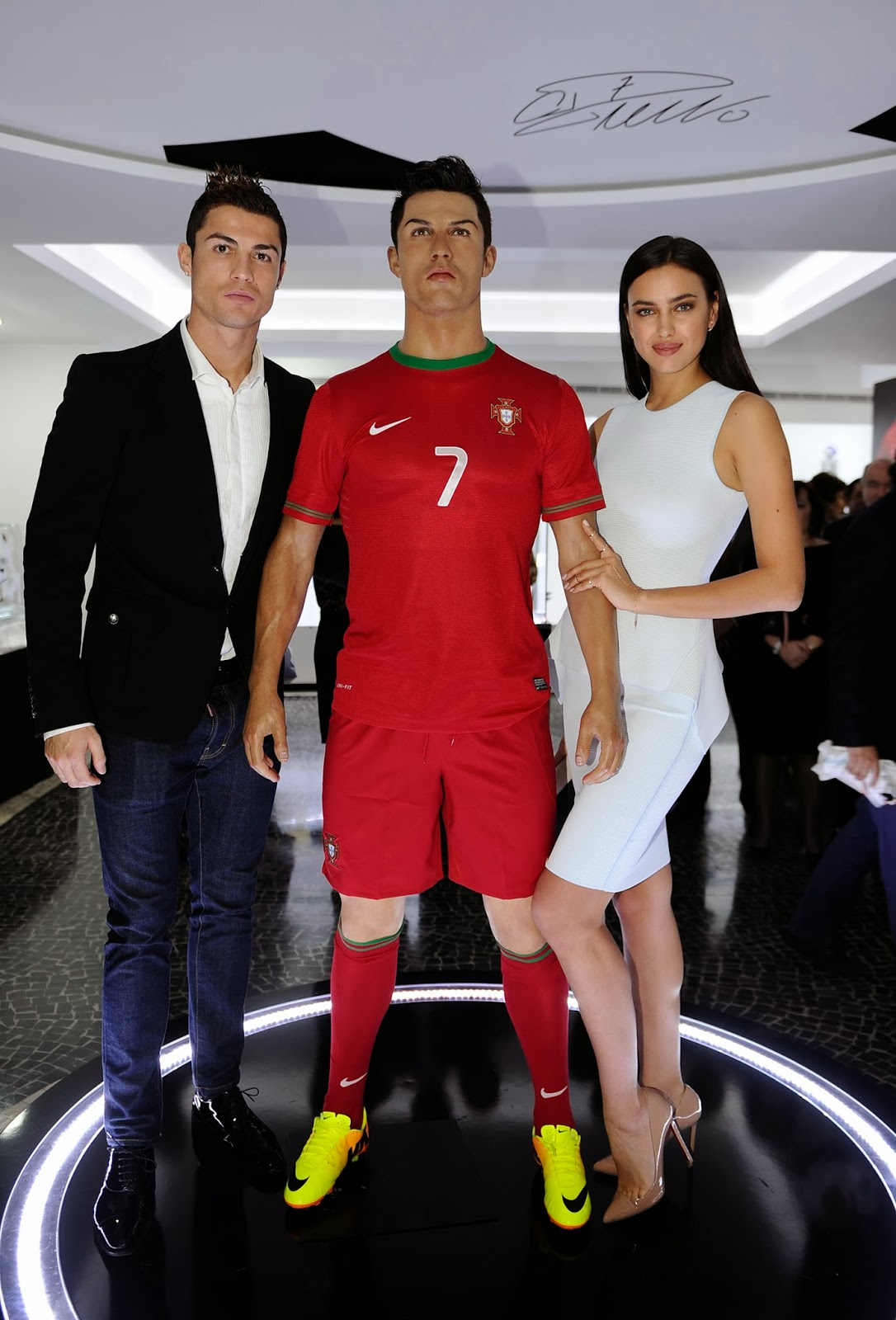 Awards, CR7 Museum, Cristiano Ronaldo, Fans, Football, Footballer, FPT, Girlfriend, Golden Boot, Golden Shoe, Honour, Irina Shayk, Madeira, Museum, Portugal, Sculpture, Sports, Trophy, Unveil, Wax,