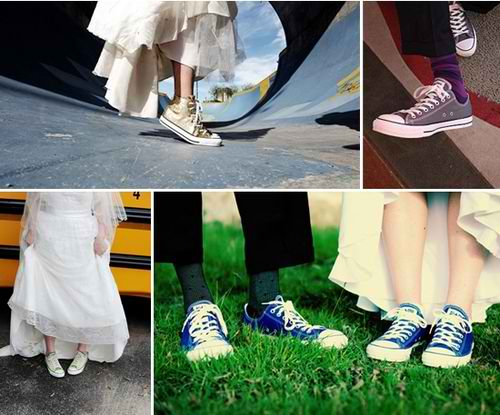 Chuck taylors for wedding