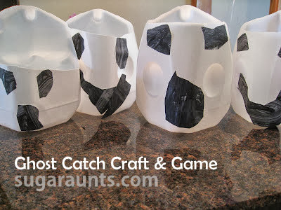 Ghost Catch Craft and Game