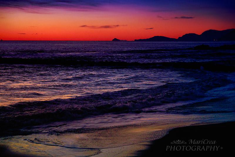 Marina di Massa tramonto