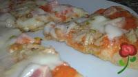 pizza en la sarten