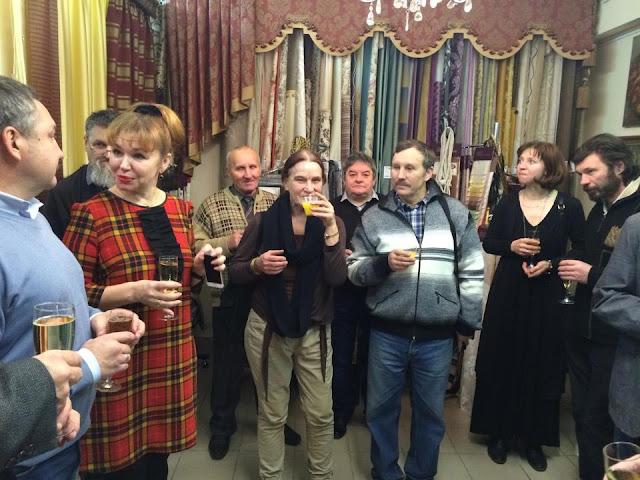 11 декабря в салоне «Галерея Леже» принимали художников – участников благотворительного проекта «Время надежды»