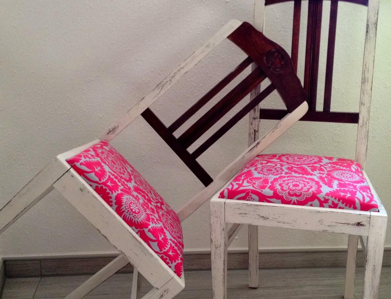 das hausfr ulein diy shabby chic vintage stuhl. Black Bedroom Furniture Sets. Home Design Ideas
