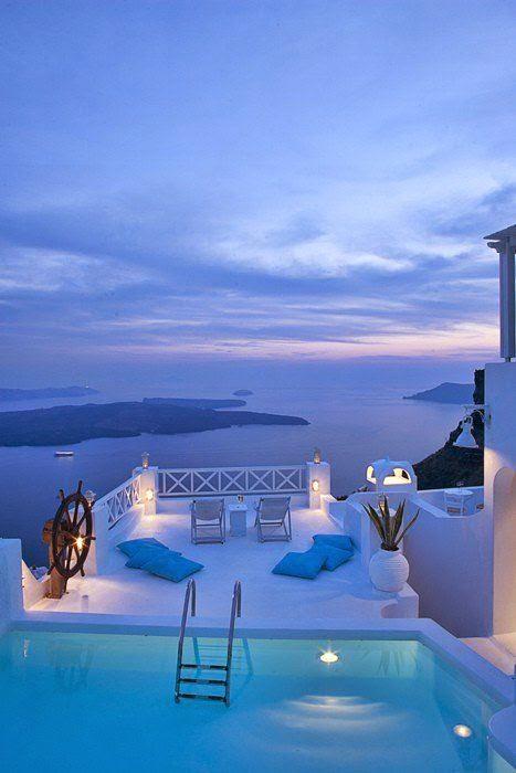 Incredible Beautiful Blue Romantic Home