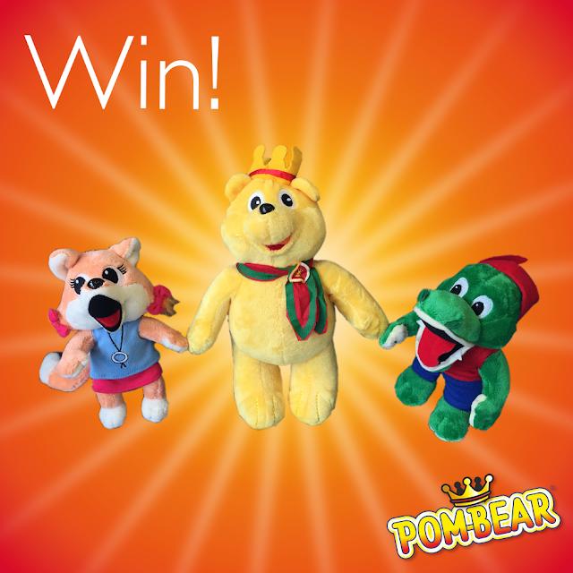pom-bear plush toys
