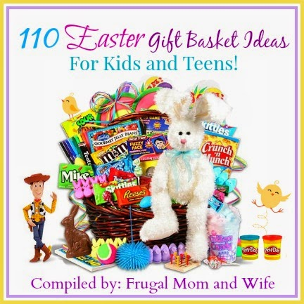 Frugal mom and wife 110 easter gift basket ideas for kids and teens 110 easter gift basket ideas for kids and teens negle Image collections