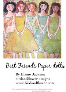 Five Friends paper-dolls