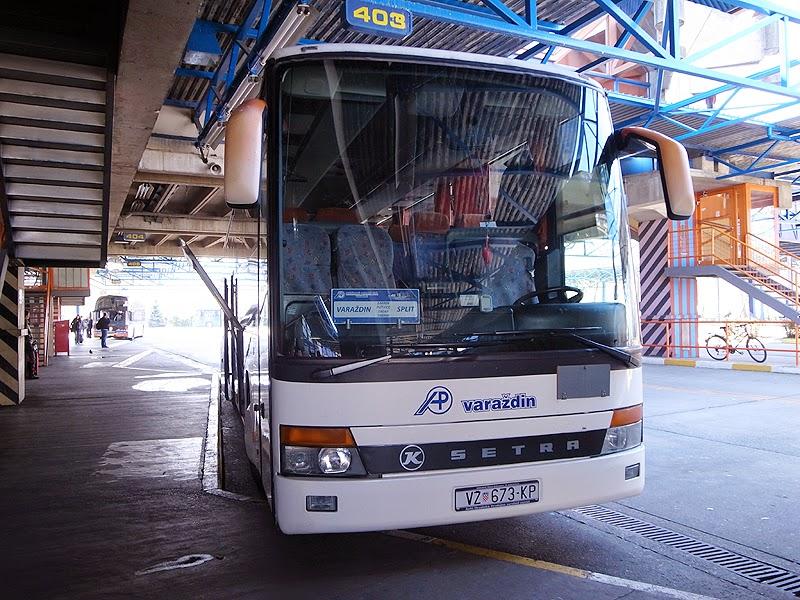 プリトヴィッツェ行きバス