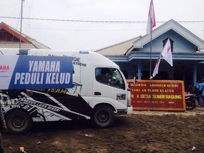 Yamaha Peduli Korban Kelud
