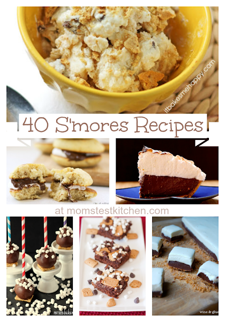 Mom's Test Kitchen: 40 S'mores Recipes