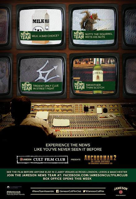 Jameson Cult Film Club Anchorman 2 The Legend Continues