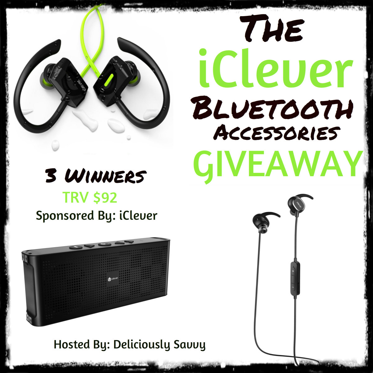 The iClever Bluetooth Accessories Giveaway