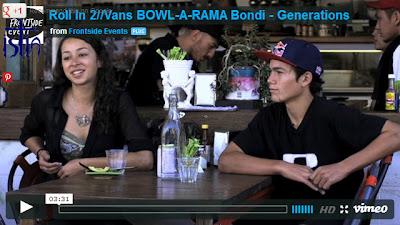 Bowl-A-Rama, Bondi 2013, Alex Sorgente, Lizzie Armanto