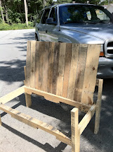 Cherry Blossom Kind Of Life Pallet Bench