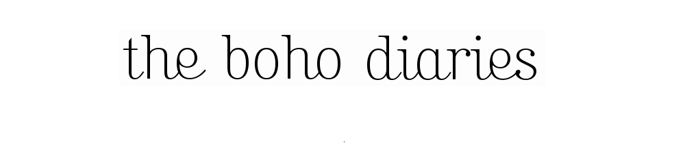 the boho diaries