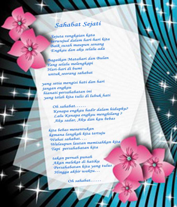 Puisi Sahabat Sejati