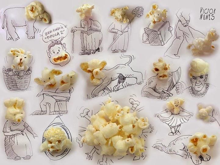 الابداع بلا حدود-لوحات فنية نصها مرسوم ونصها حقيقي Design-fetish-Victor-Nunes-objects-illustrations-into-faces-3