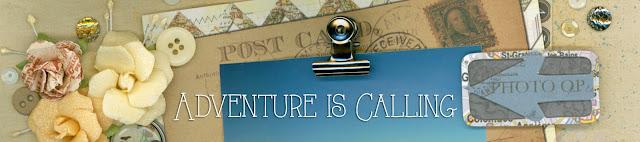 adventure, travel, sunset, scrapbook, handmade, flowers, stickers, chipboard, brads, garland, banner, pennants, arrows, California, buttons, sequins, paper crafts, scrapbooking