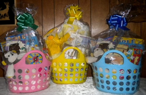 Inspirational christian stories poems gifts 2012 easter baskets there are 3 easter baskets that you have a chance to win a baby easter basket a little girl easter basket and negle