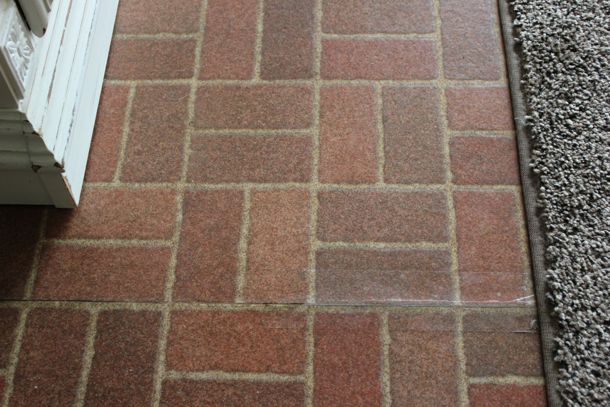 Brick Look Linoleum Flooring : Best linoleum flooring that looks like brick