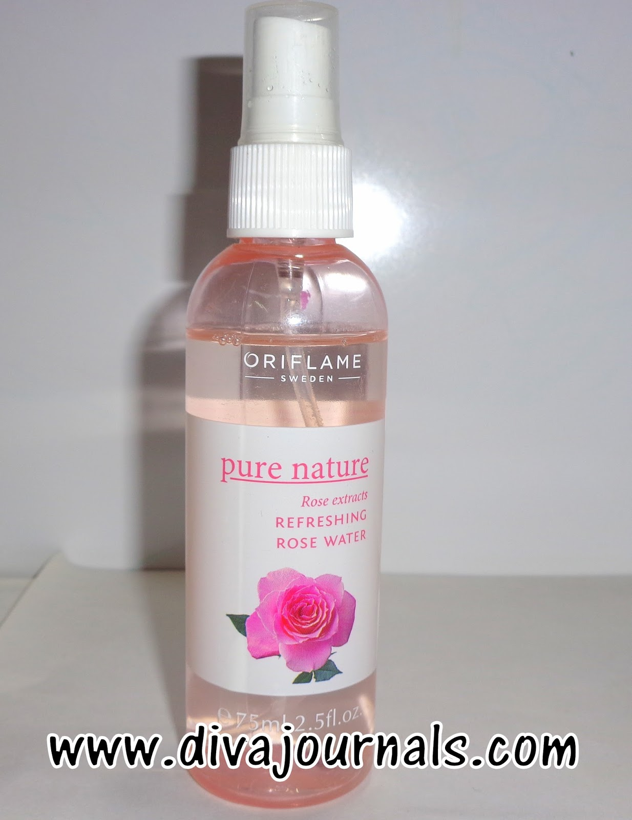Oriflame Pure Nature Rose Extracts Refreshing Rose Water Review