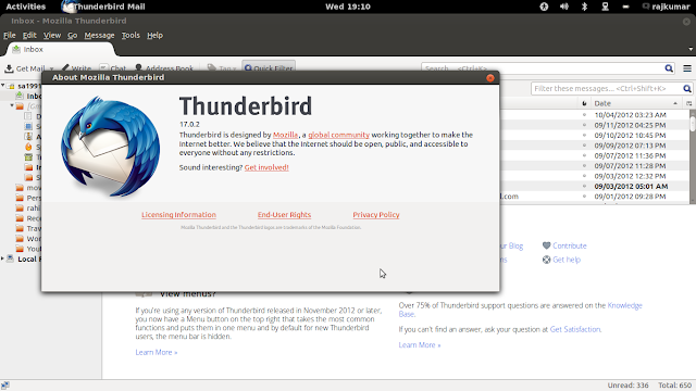 how to install thunderbird in ubuntu/Linux Mint
