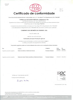 Certificado de Conformidade 2012