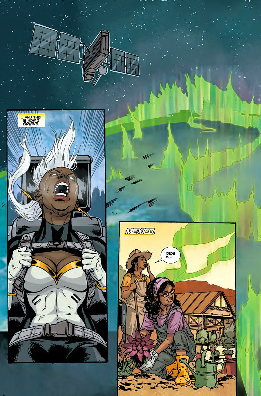 Storm Death of Wolverine aftermath