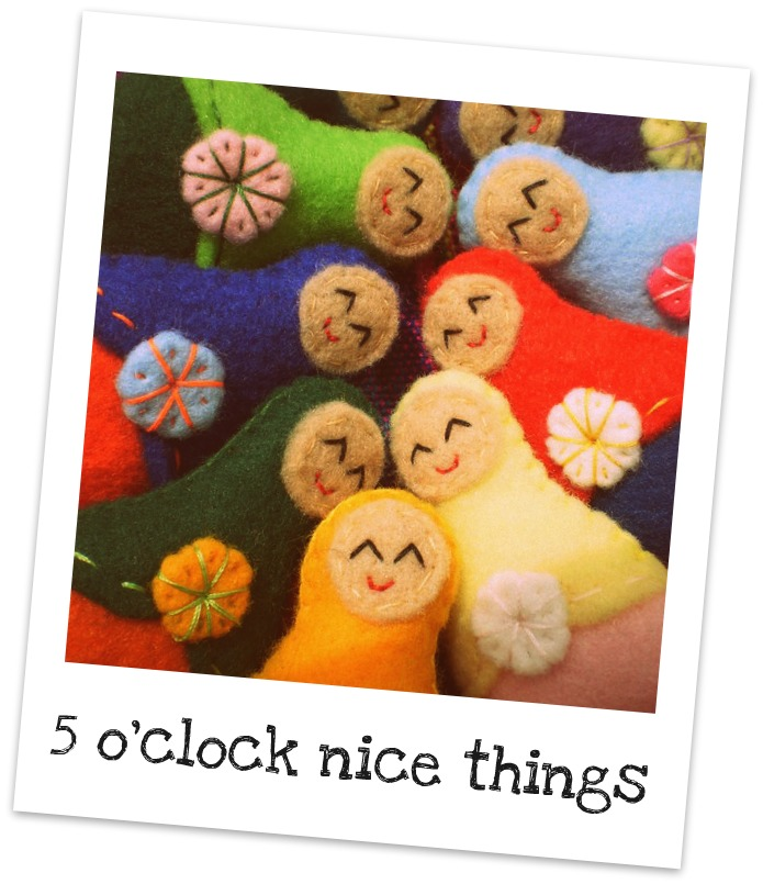 5 O&#39;CLOCK | NICE THINGS