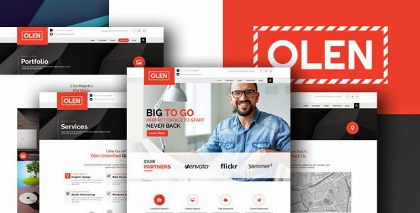 Best Multipurpose Corporate PSD Template